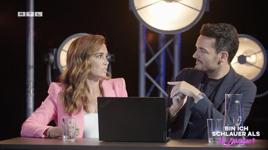 "RTL ""Am I Smarter Than...?"": Jana Ina Zarrella Reveals Her Greatest Shock Moment"