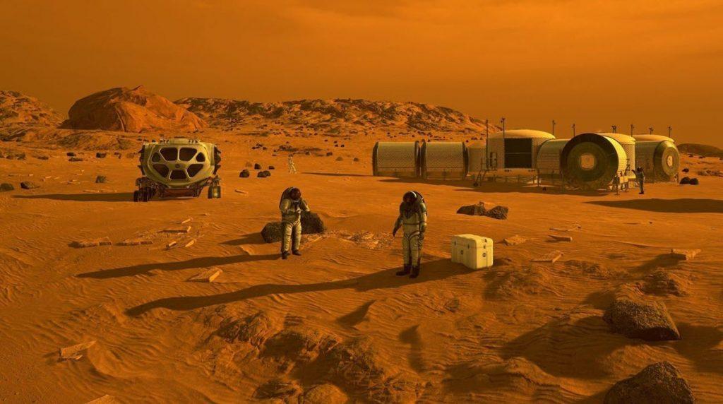 Radiation exposure on Mars inhibits plant growth
