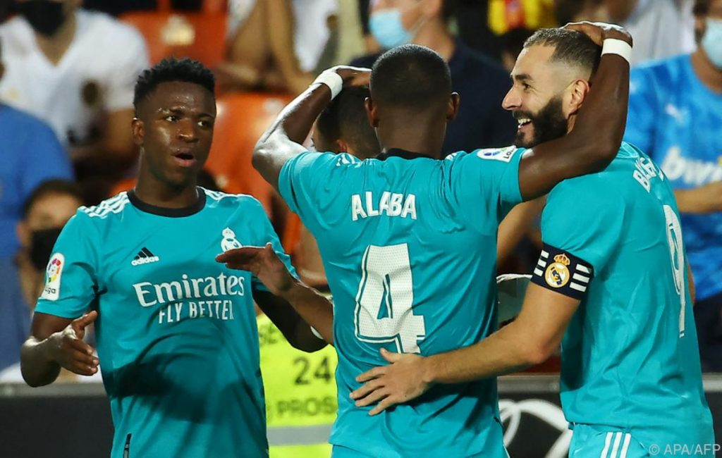 Real Madrid's top deal with Alaba Mallorca 6:1