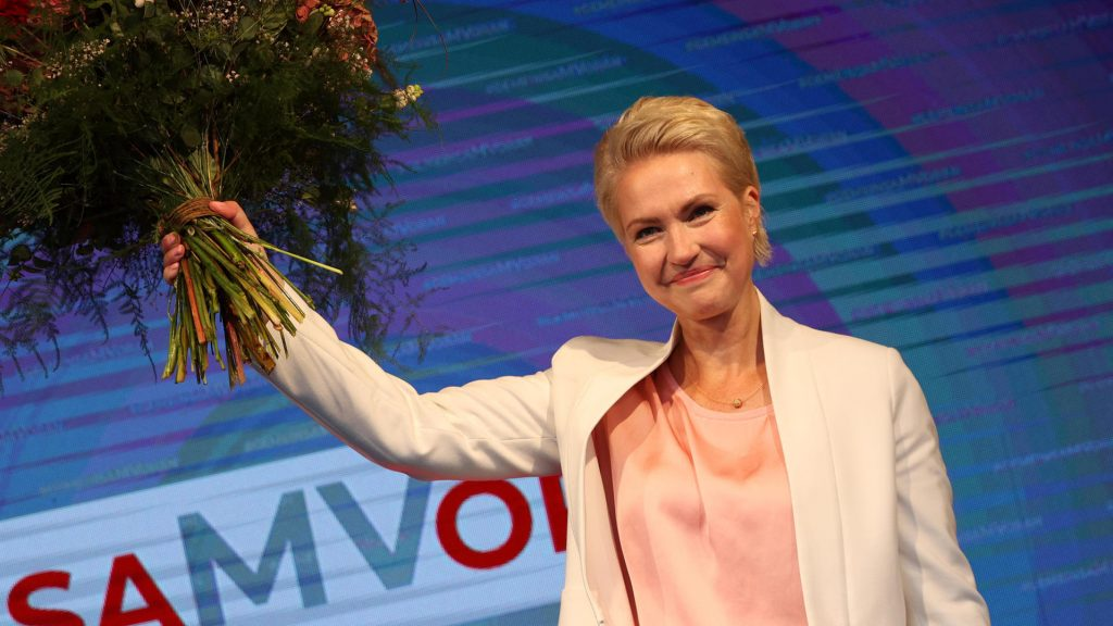 State elections in Mecklenburg-Vorpommern: SPD clearly wins