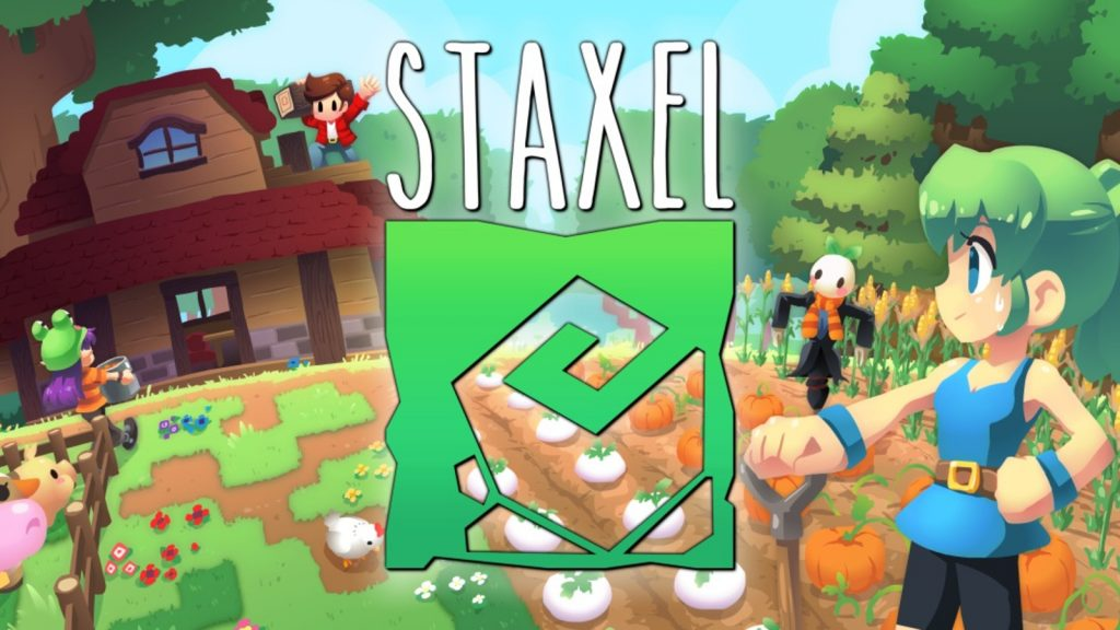 Staxel is now available for the Nintendo Switch