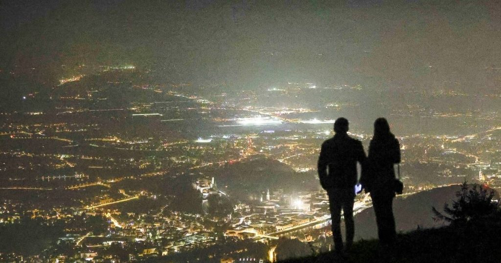 The city of Salzburg turns off the lights: the ruins remain in the dark for one night