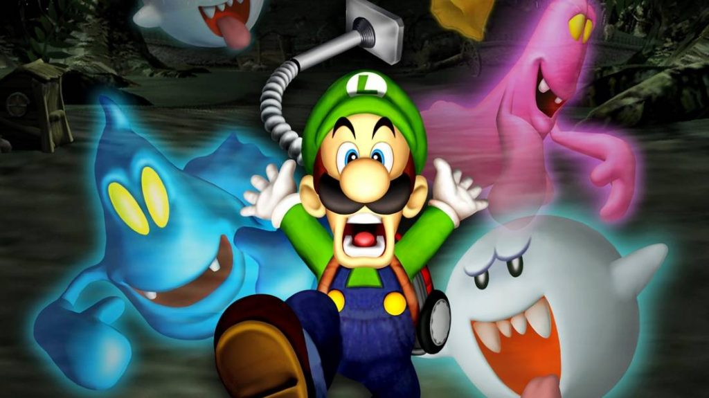 The player discovers Luigi in the prototype of the Sega Dreamcast