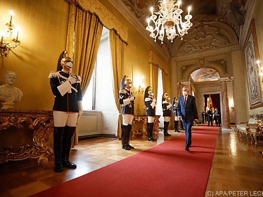 "Van der Bellen in Rome: ""The EU must appear more self-confident"" - Politics -"