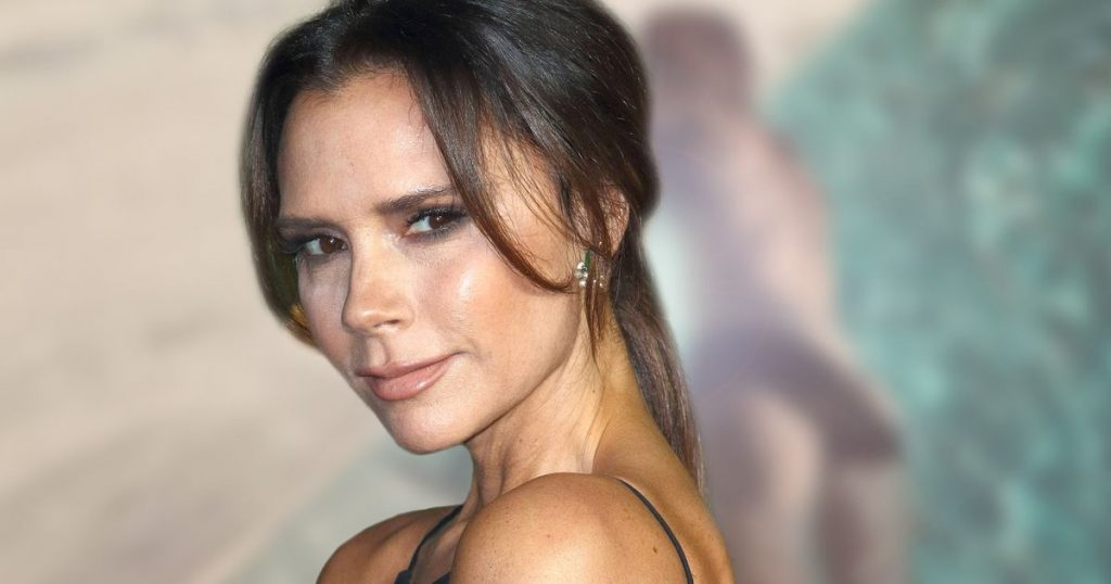 Victoria Beckham: Hot shot!  David has never shown us like this before