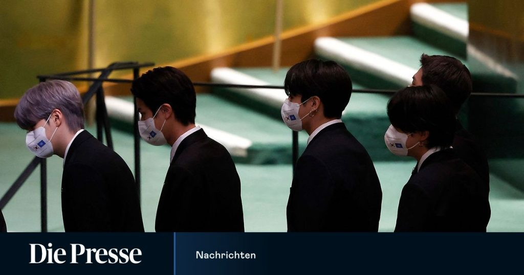When K-pop boy BTS sings at the UN General Assembly