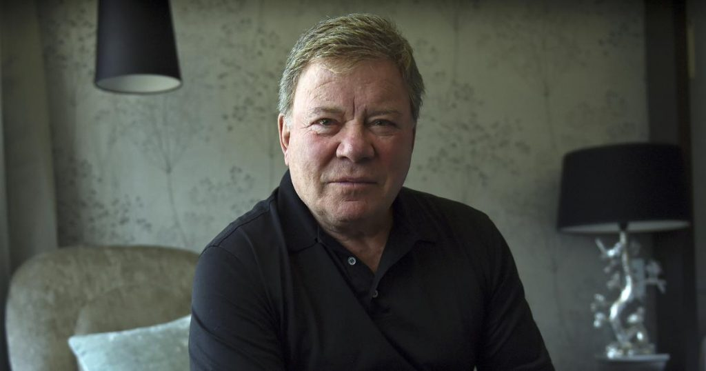 William Shatner is set to travel to space with Blue Origin