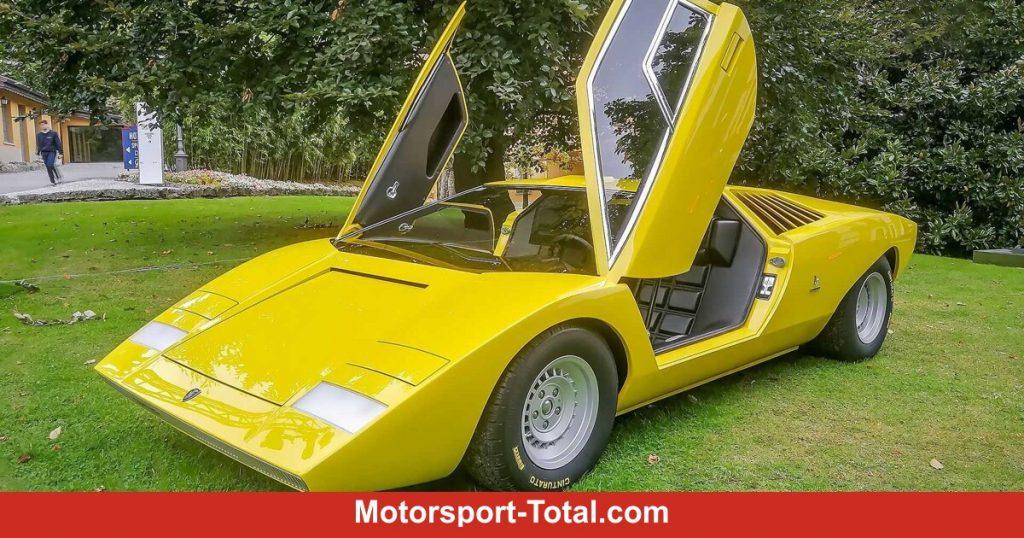 Lamborghini Countach LP 500: The Number 1 is back