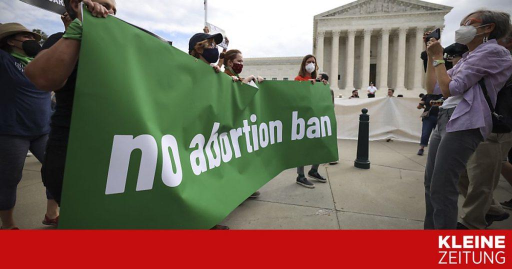 US federal judge suspends abortion ban in Texas «kleinezeitung.at
