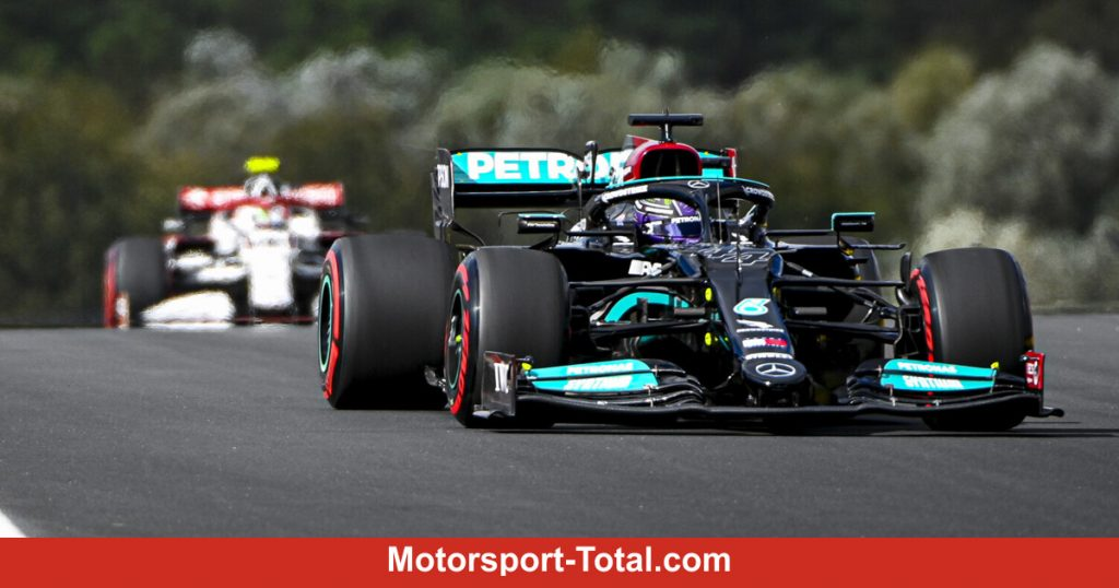 Lewis Hamilton is clearly ahead of Red Bull