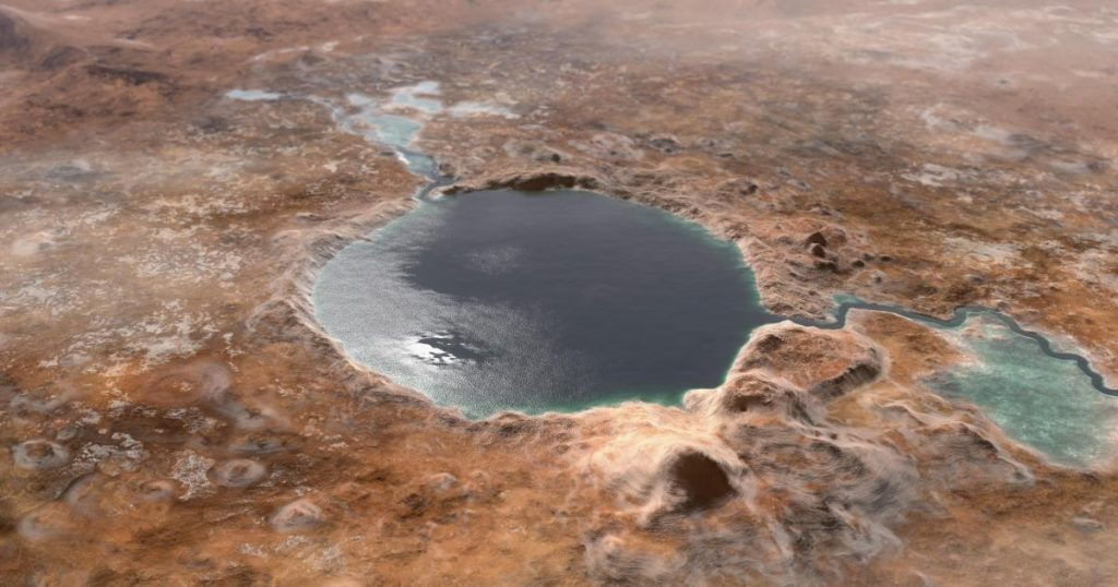 NASA confirms that perseverance has landed in a lake