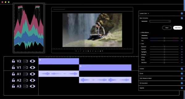 First Display - Auto-Tone-Screen