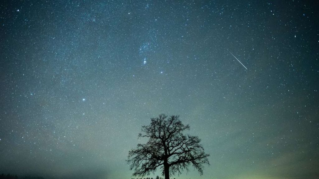 A meteor is raining over Germany: where you can marvel at the Draconids