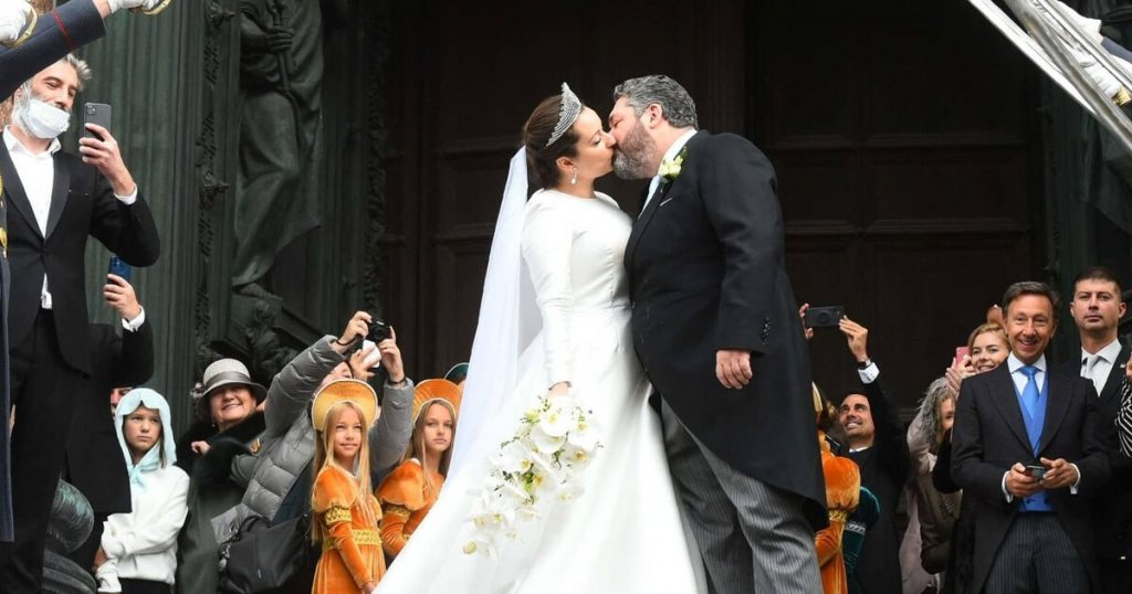 A noble wedding: a descendant of the Romanovs married in Saint Petersburg