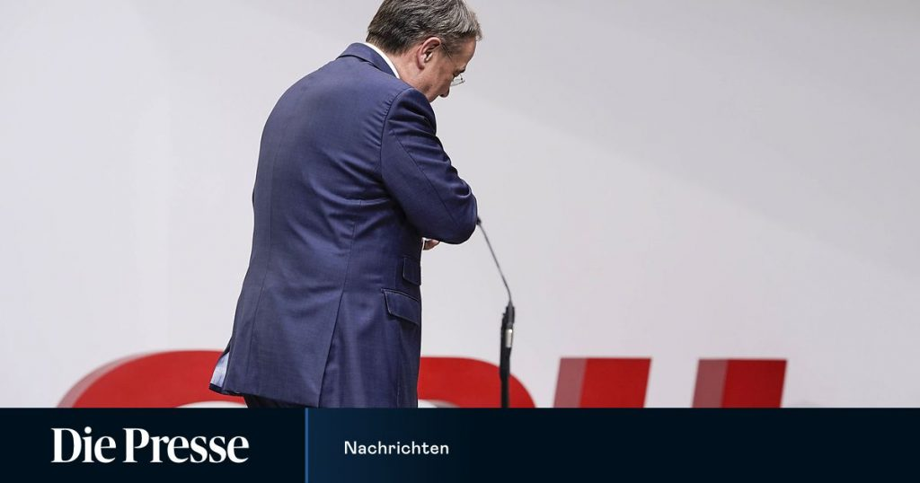 CDU politicians want members included in choosing a party leader