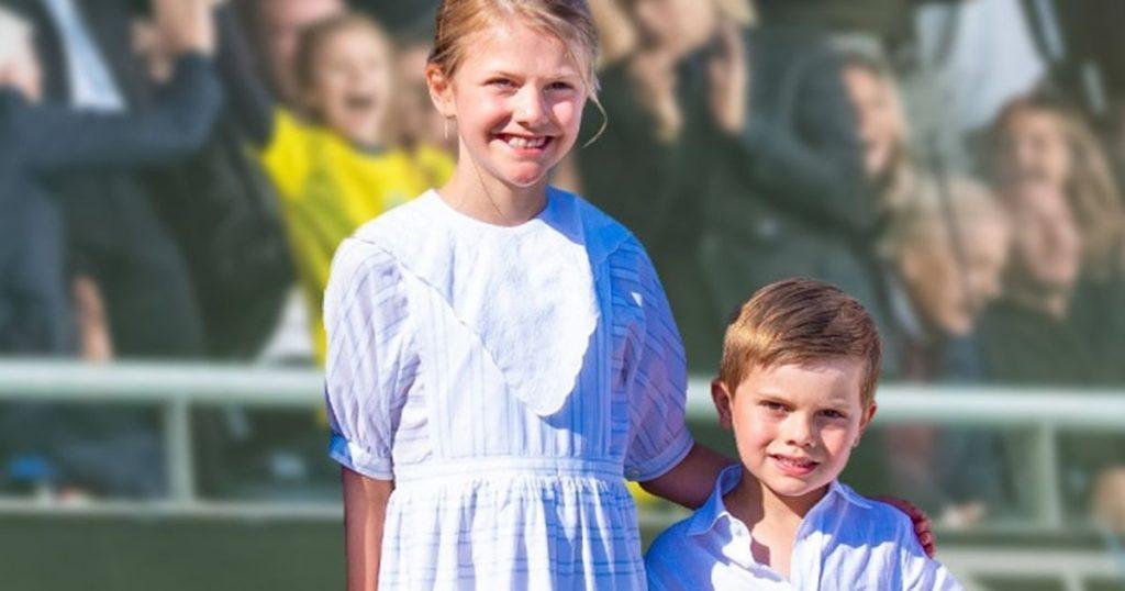 Estelle & Oscar of Sweden: Pure Ecstasy: Royal robes freak out here