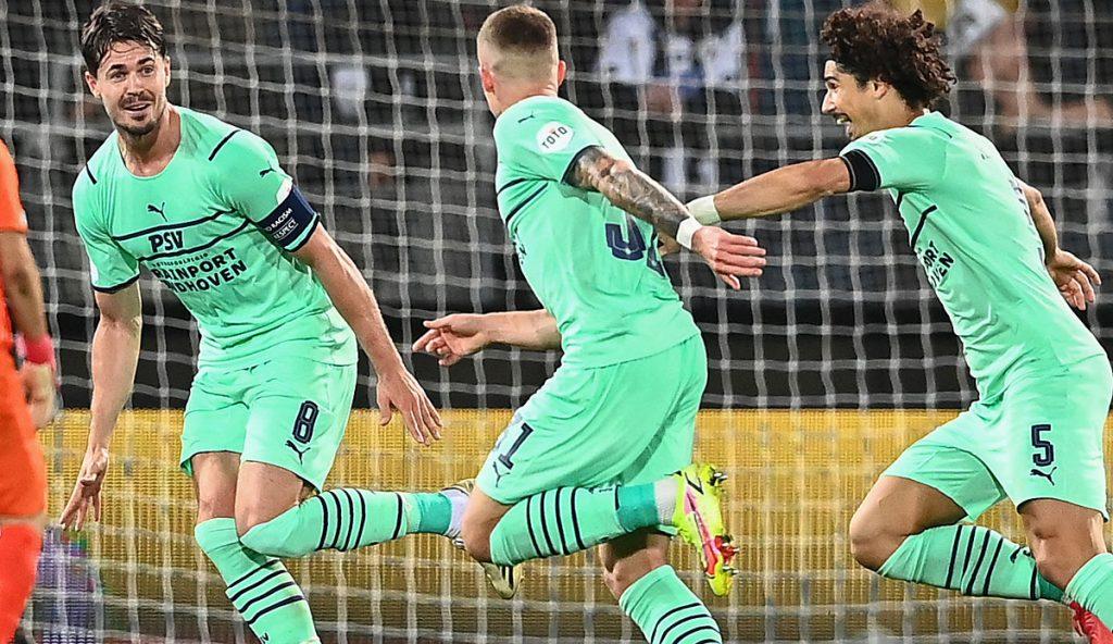 Europa League: Philippe Max scores amazingly when PSV Eindhoven wins