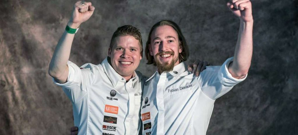 Fabio Tovolon wins Chef of the Year award
