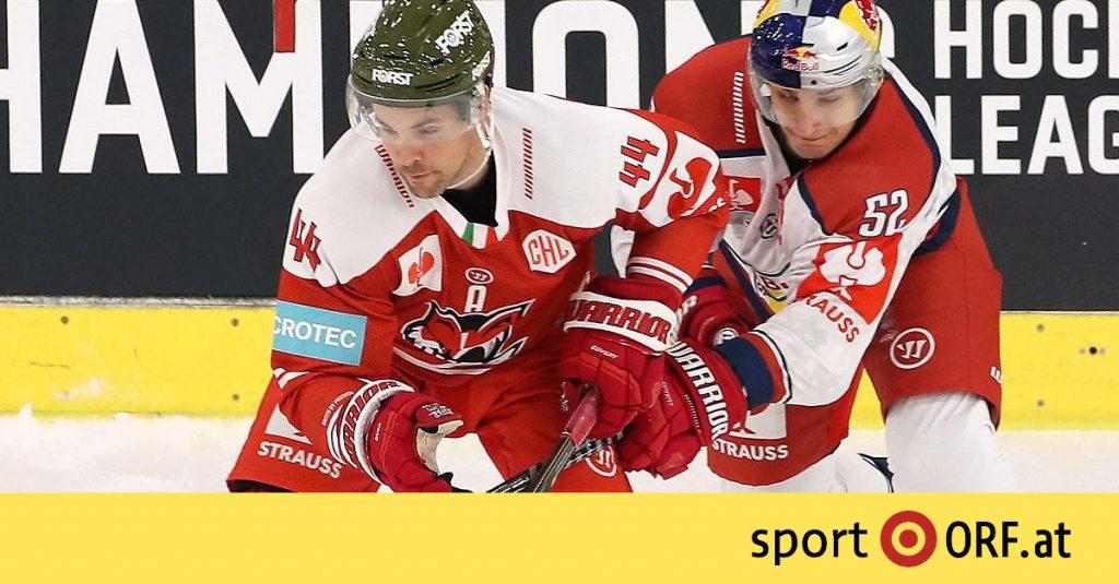 Ice hockey: Bolzano inflicts first CHL defeat at Salzburg