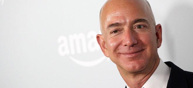 """Jeff Bezos zu Misserfolgen: """"Was auch immer Ihre Ziele sind, geben Sie nicht auf"""""""
