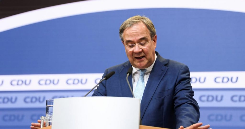 Laschet is staying for now, but wants a 'fresh start' for CDU