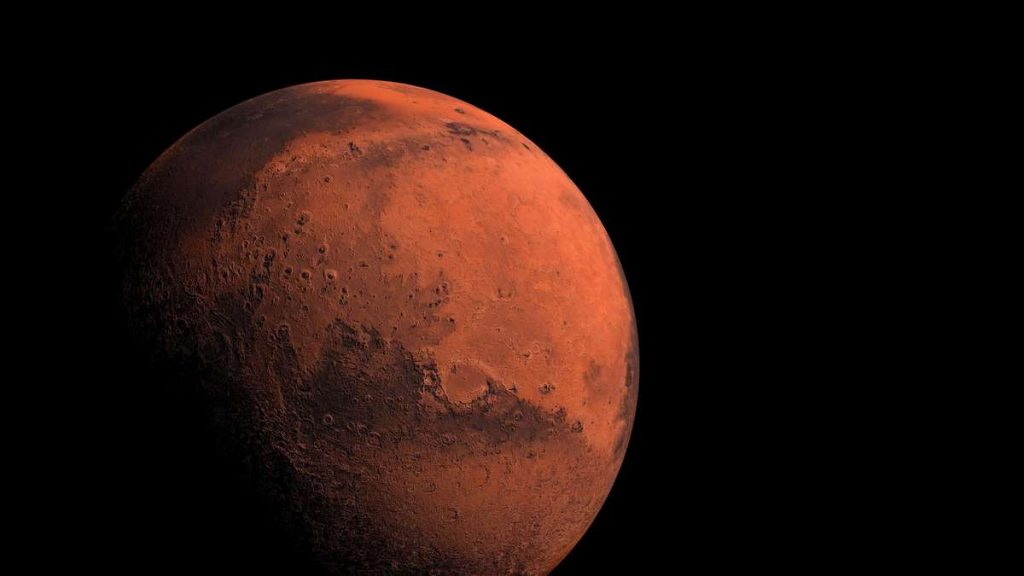 New study shows: Mars was too young to hold water