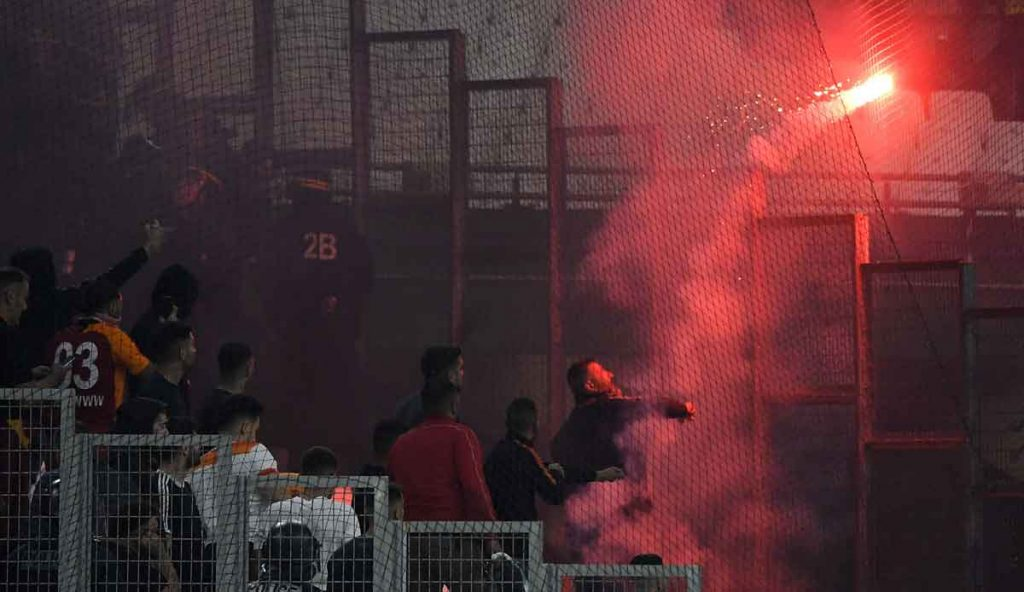 Olympic Marseille - Galatasaray Istanbul: Three police officers were injured