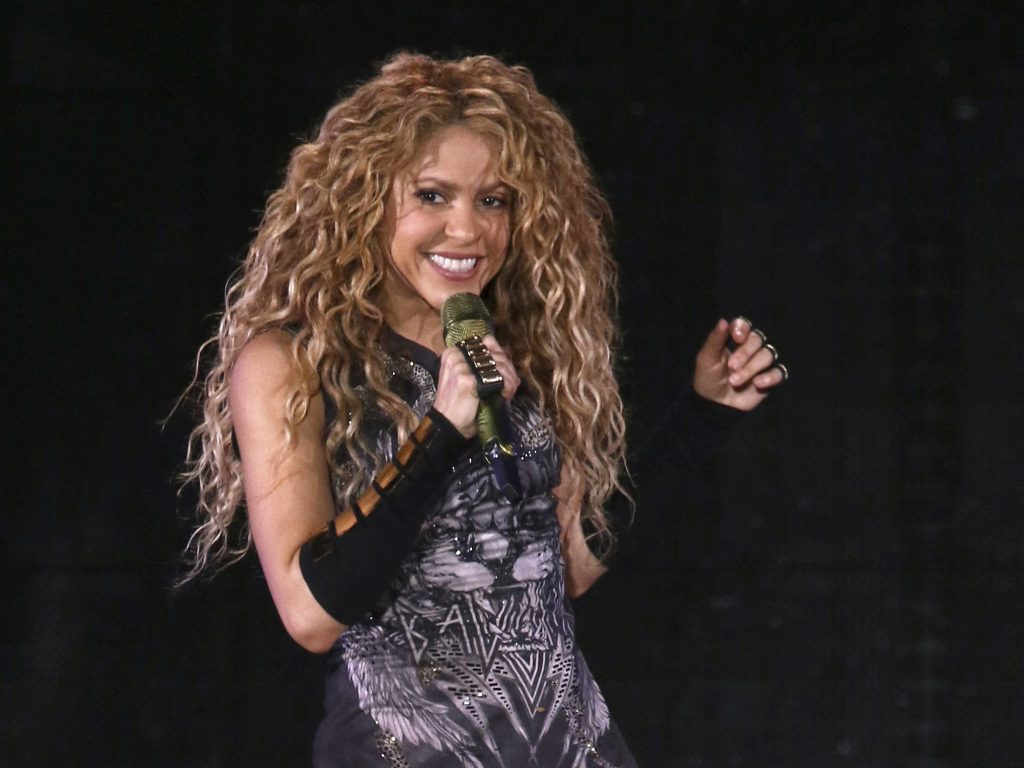 Pop star Shakira attacked by a wild boar in Barcelona - the stars