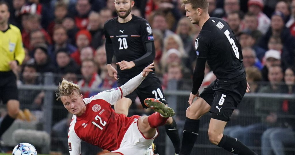 The play-off is the last chance for the unseeded Austrians in the World Cup