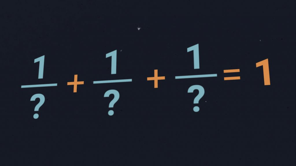 The sum of the fractions is 1 - Can you find all the solutions?