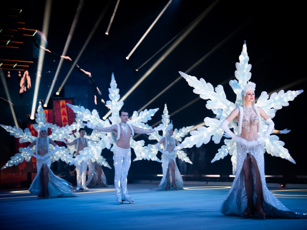 Wiener Stadthalle presents 'Holiday on an icy supernova'